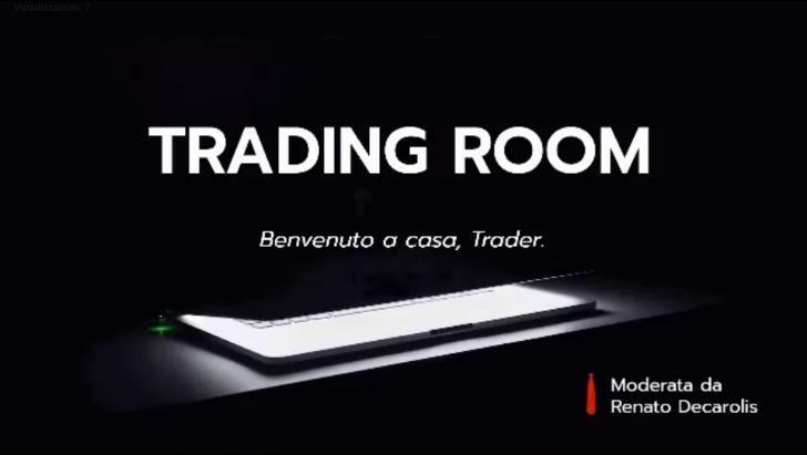 """Intervista live di Francesco Serafini nel programma """"Trading Room"""""""