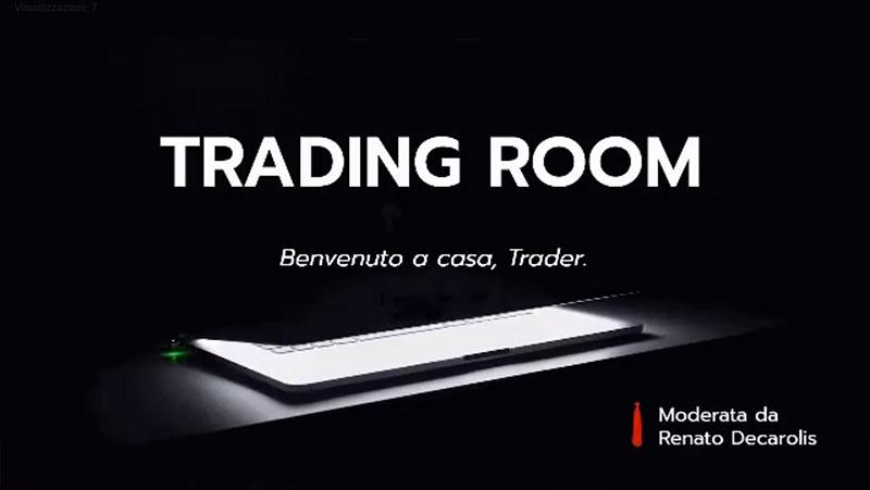 """""""Trading Room"""" Trasmissione finanziaria"""